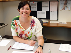 Canajoharie Special Education Director Jennifer Schwabrow