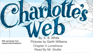 Chapter 4 picture for charlottes web